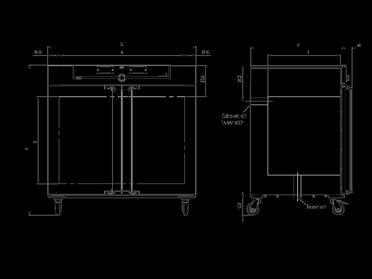 Sketch Universal Oven Um UN450mplus