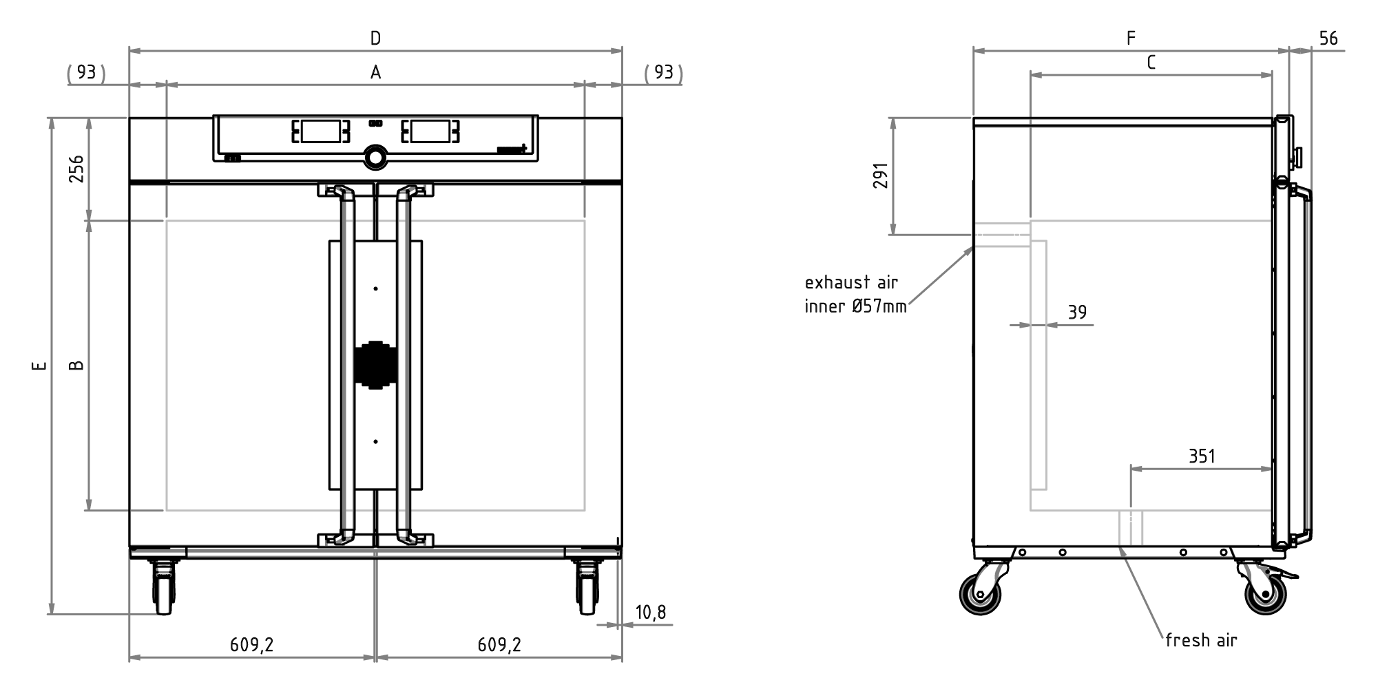 Sketch Universal Oven UF450